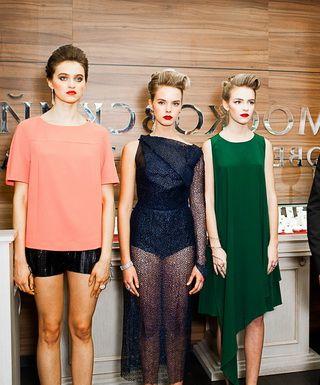 Игорь Чапурин одел женщин в многослойные платья