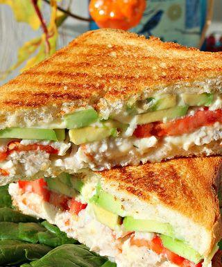 Готовим сэндвич с курочкой