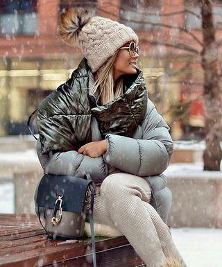 Как носить шапки осенью и зимой