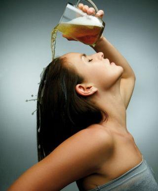 Маска для волос из пива: народные рецепты пивных масок