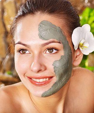 Очищающая маска для лица из глины