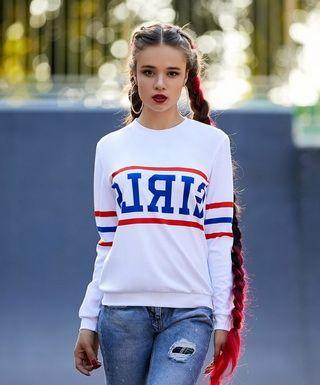 Самые модные свитшоты для девушек