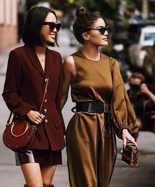 Модные цвета осенней и зимней одежды