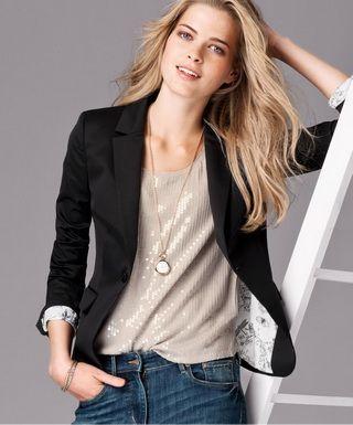 Модный женский пиджак: с чем носить