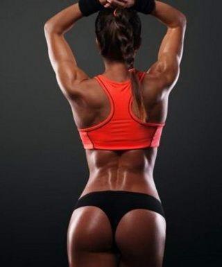 Упражнения для похудения ягодиц (попы)