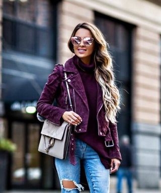 Женские куртки-косухи: модные варианты 2018 года