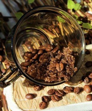 Кофейный скраб для кожи в домашних условиях
