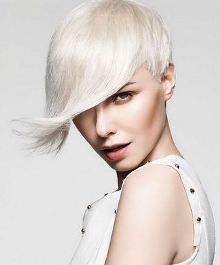Цвета волос для коротких стрижек, модные в 2018 году