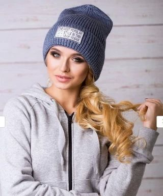 Женские вязаные шапки 2018-2019: модные головные уборы
