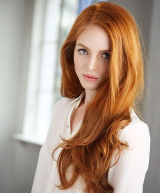 Рыжий цвет волос в 2018 году: самые модные оттенки