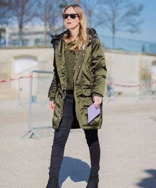 Военная одежда – популярный стиль милитари