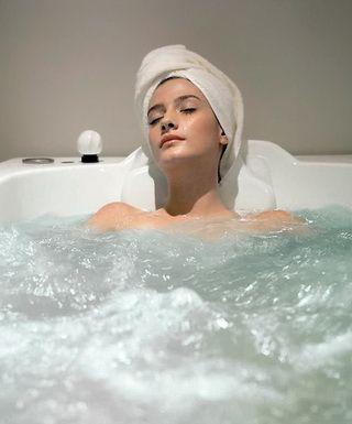 Лечебные ванны с травами для кожи