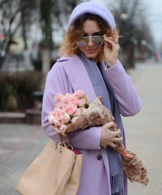 Модные луки с пальто разных фасонов