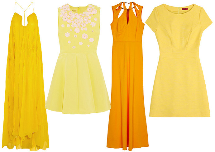 yellow dress 2015