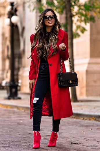Модные шарфы года: фото моды на осень-зиму 66
