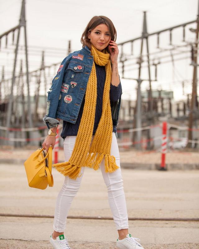 Модные шарфы осени-зимы 2018-2019 года: фото, тенденции ...