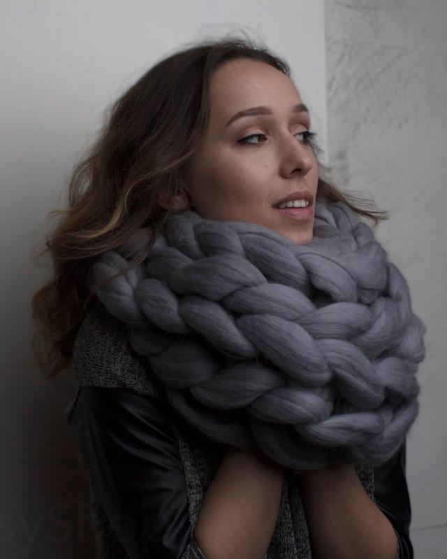 модные шарфы осени зимы 2018 2019 года фото тенденции моды для