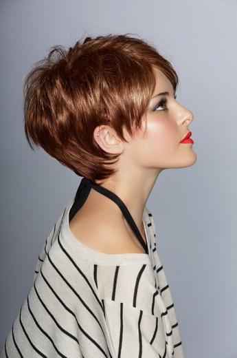 Стрижки женские рыжие волосы