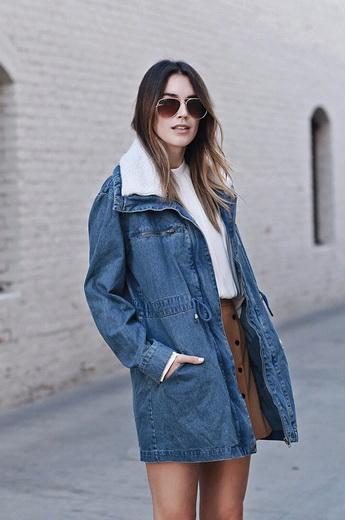 Женская джинсовая куртка с мехом – роскошный элемент гардероба, который  подойдет как юной студентке, так и солидной леди. 92585d29f19